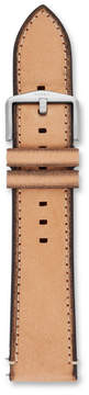 Fossil Estate 22mm Light Brown Leather Watch Strap