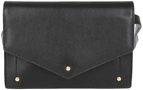Sara Battaglia Logo Embossed Shoulder Bag