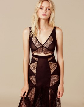 Agent Provocateur Deanna Dress Black