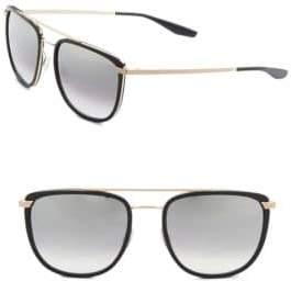 Barton Perreira 56MM Lafayette Sunglasses