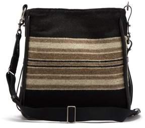 Isabel Marant Dosseh Wool Shoulder Bag - Womens - Black Multi