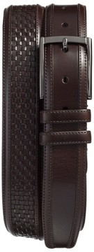 Mezlan Men's Parma Woven Leather Belt