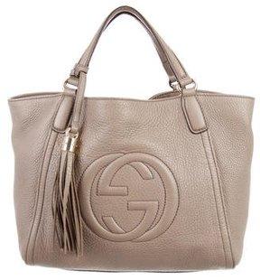 Gucci Soho Top Handle Bag - BROWN - STYLE