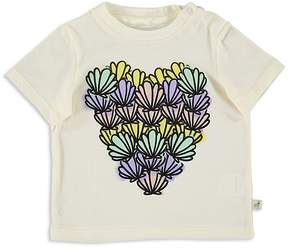 Stella McCartney Girls' Seashell Heart Tee - Baby