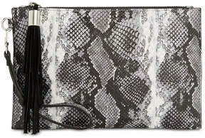 INC International Concepts I.n.c. Molyy Snake Party Wristlet Clutch, Created for Macy's