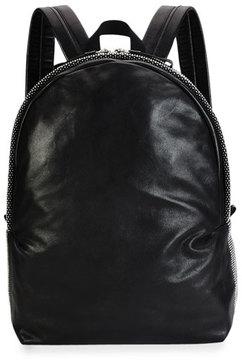 Alexander McQueen Men's Studded Leather Backpack, Black