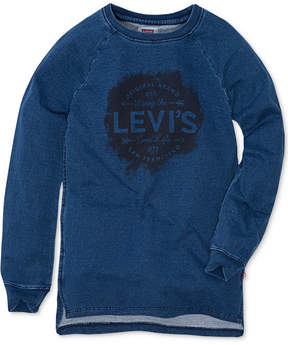 Levi's High Side-Slit Tunic, Big Girls (7-16)