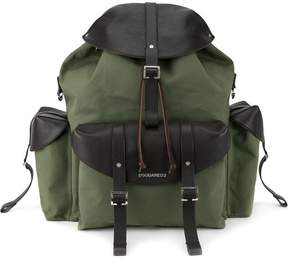 DSQUARED2 foldover-buckle backpack