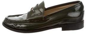 Gucci Patent Leather Penny Loafers