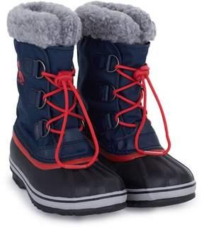 Sorel Navy Yoot Pac Nylon Boots