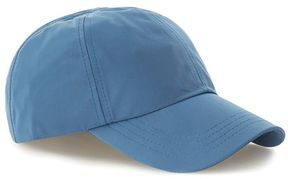 Topman Bright Blue Nylon Curve Peak Cap