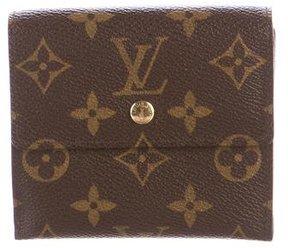 Louis Vuitton Porte-Monnaie Billets Carte Crédit - BROWN - STYLE