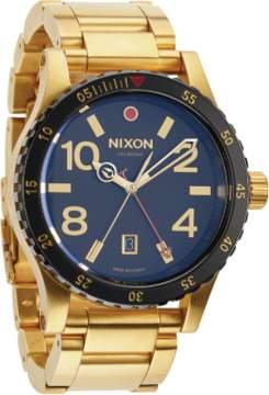 Nixon The Diplomat SS A277-513 Gold/Black Analog Quartz Men's Watch