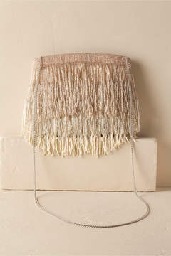 Roxy Fringe Clutch