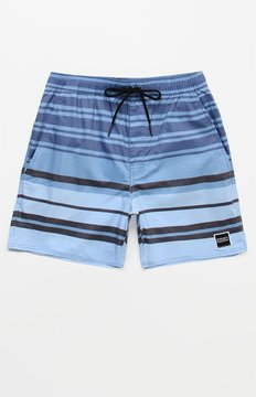 Ezekiel Thumper Striped 16 Swim Trunks