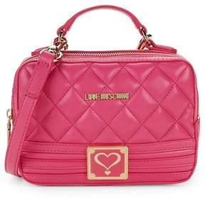 Love Moschino Women's Quilted Crossbody Bag