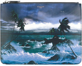Givenchy Hawaii print pouch