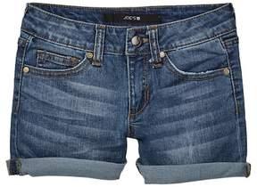 Joe's Jeans Mid Rise Roll Shorts (Big Girls)