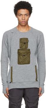 Nike Grey Long Sleeve AAE 1.0 Crew T-Shirt