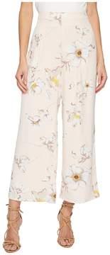 J.o.a. Wide Leg Pants with Corset Waist Women's Casual Pants