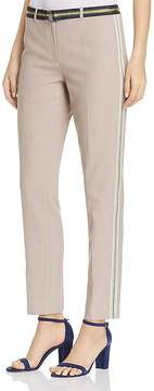T Tahari Ivana Ribbon-Trimmed Pants