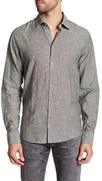 Lindbergh Woven Long Sleeve Regular Fit Shirt
