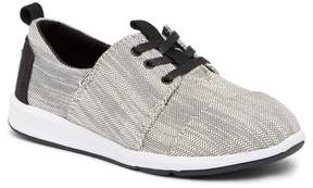 Toms Textured Woven Delrey Sneaker (Little Kid & Big Kid)