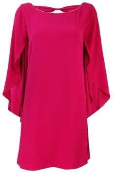 Jessica Simpson Women's Flutter Sleeve Textured Dress