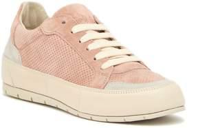 Manas Design Perforated Suede Sneaker