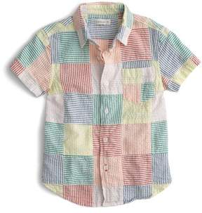 J.Crew crewcuts by Patchwork Woven Shirt
