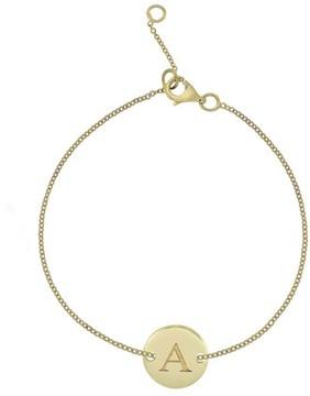Bony Levy Women's 14K Gold Initial Bracelet (Nordstrom Exclusive)