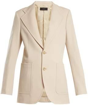 Joseph Albert single-breasted wool-blend jacket