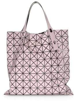 Bao Bao Issey Miyake Light Pink Prism Frost Tote