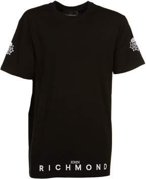 John Richmond Sleeve Print T-shirt