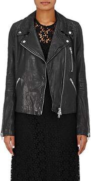 Barneys New York Women's Leather Moto Jacket