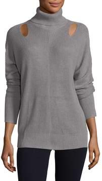 Ella Moss Women's Ribbed Turtleneck Sweater