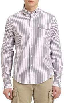 Gant Striped Cotton Sportshirt