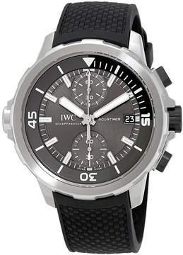 IWC Aquatimer Grey Dial Automatic Men's Chronograph Watch