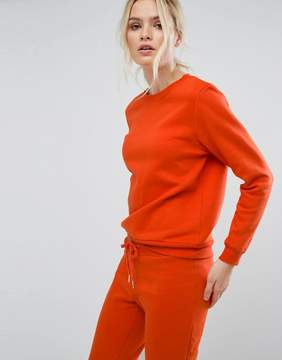 South Beach Sweatshirt In Burnt Orange