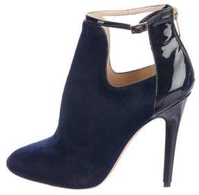 Jimmy Choo Luther Ponyhair Booties