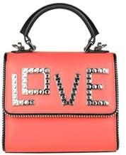 Les Petits Joueurs Women's Red Leather Handbag.