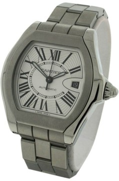 Cartier Roadster Stainless Steel Automatic 46mm Mens Watch