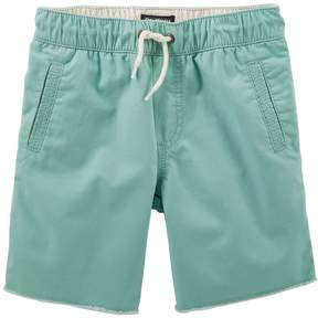 Osh Kosh Oshkosh Bgosh Boys 4-12 Solid Pull-On Shorts