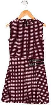 Marni Girls' Pleated Printed Dress