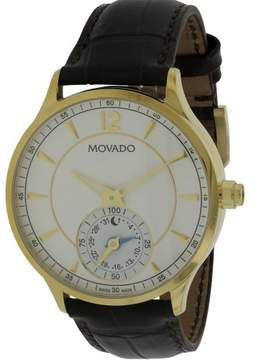Movado Circa Motion Leather Smartwatch Mens Watch 0660008
