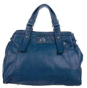Marc by Marc Jacobs Turn-Lock Leather Satchel