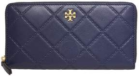 Tory Burch Georgia Zip Continental Wallet- Royal Navy - ONE COLOR - STYLE