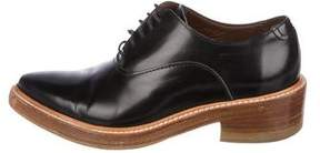 Acne Studios Patent Pointed-Toe Oxfords