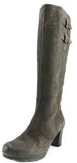 Gabor 72.887 W Round Toe Leather Knee High Boot.