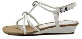 Alfani Womens Carah Open Toe Casual T-strap Sandals.
